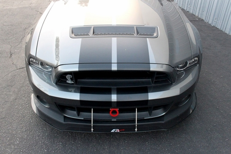 APR Mustang GT500 Front Bumper Wind Splitter w/ Rods 2010-2014