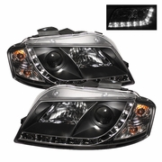 Audi A3 Black Projector Headlights 2006-2008