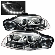 Audi A4 Spyder Projector Headlights 2006-2008