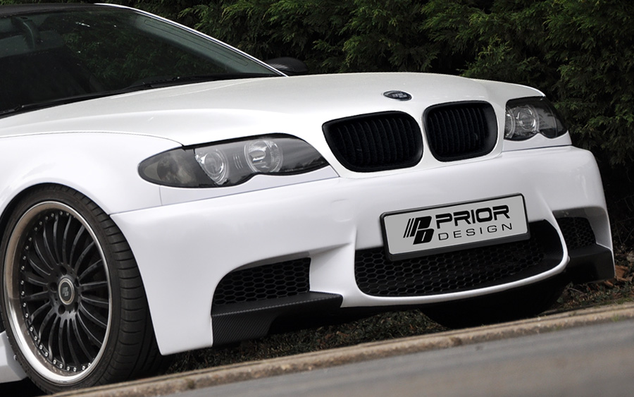 Bmw E46 3 Series Prior Design M3 Styling Front Bumper