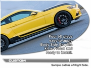 Body Side Graphic Kit 24 for Ford Mustang 2015