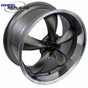 Bullitt Replica  Wheel Deep Dish Bullitt Wheels Anthracite  20x10 / 20x8.5 SET