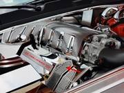 "Challenger/Charger/Magnum/300 SRT 8 Fuel Rail Covers Polished/Perforated ""CHALLENGER"" Illuminated 2008-2011"