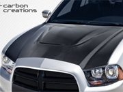 Charger Carbon Creations SRT Styled Hood 2011-2014