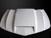 Camaro LS/LT 2014-2015 V6 only Type-SMS Style Functional Heat Extractor Ram Air Hood