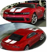 Chevrolet Camaro SS Rally Stripes Graphics Kit 10 2014 2015