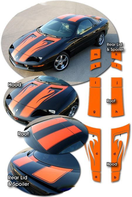 Chevrolet camaro z28 anniversary flame graphics 1993 1997 chevrolet camaro z28 30th anniversary style flame graphics 1993 1997 publicscrutiny Image collections