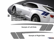 Camaro COPO Style Side Body Graphic Kit 2010-2015