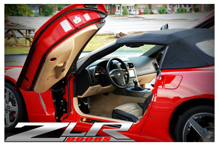 Corvette Lambo Vertical Door Kits & Corvette Vertical Doors Lambo Custom Door Lifts