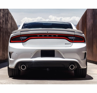 dodge charger hellcat rear bumper conversion 2015 2016. Black Bedroom Furniture Sets. Home Design Ideas