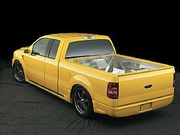 FORD F150 2004-2008 SIDE SKIRT KIT- SUPER CAB WITH STANDARD SHORT BED URETHANE
