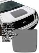 Ford F150 Hood Enhancement Graphics Kit FX-4 Style 2004-2014