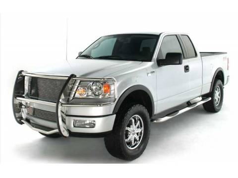 """Ford F150 ICI 3"""" Nerf Bars Cab Length Stainless or Black Powdercoat 2009-2013"""