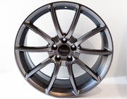 Ford Mustang Black Mamba Wheels Gunmetal 20 Inch, Staggered Set 2005-2014