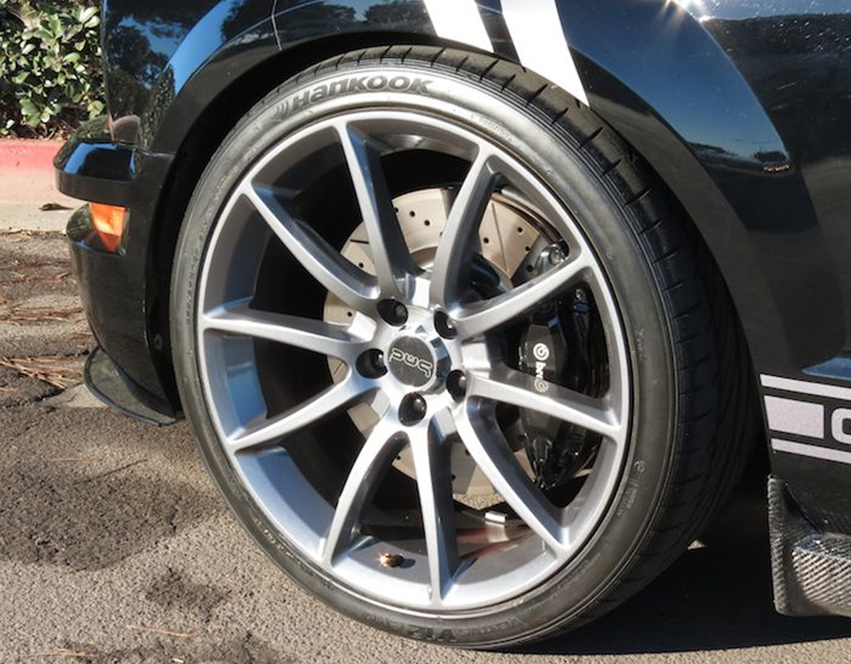 Ford Mustang GT500 Wheels Gunmetal 20 Inch, Staggered Set