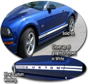 Ford Mustang Body Side Graphics Kit 5 1994-2014