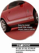 Ford Mustang Classic Side Stripes Graphic Kit 2 2005-2014