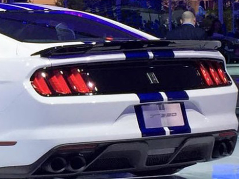 Ford Mustang Gt350 Rear Spoiler Track Pack Edition 2015 2018