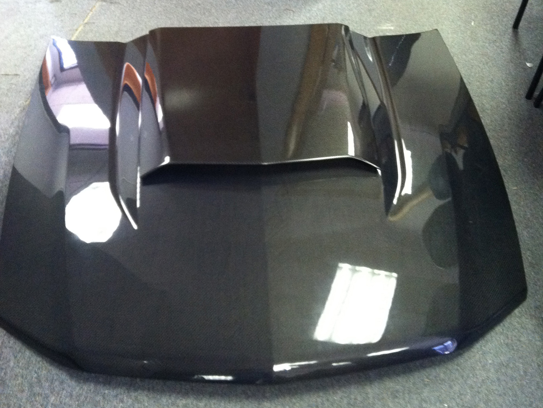 Aftermarket Performance Car Parts >> 2010-2012 Ford Mustang OEM Carbon Fiber Hood and Hood ...