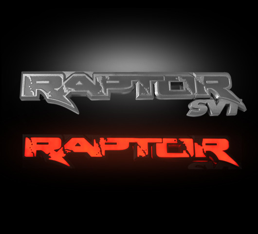 Ford Raptor Svt Illuminated Emblems