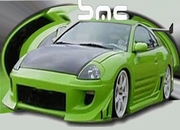 KBD Mitsubishi Eclipse BZ Urethane Body Kit 2000-2005