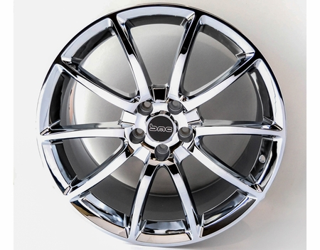 Mustang Chrome Wheel Black Mamba Style 20x9 2005-2018