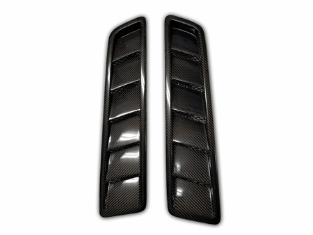 Mustang GT Carbon Fiber Hood Vents OE Style 2013 2014