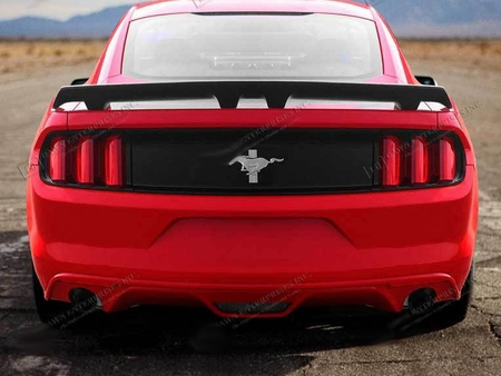 Mustang Painted Spoiler Wing Pedestal Style 2015-2018