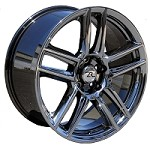 "Mustang Wheel Replica 19x10"" Laguna Black Chrome 2005-2013"
