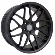 Mustang ZR Downforce Concave Matte Graphite Wheels DISCONTINUED