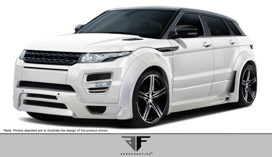 Range Rover Evoque Af 1 Wide Body Kit 21 Pc Land Rover