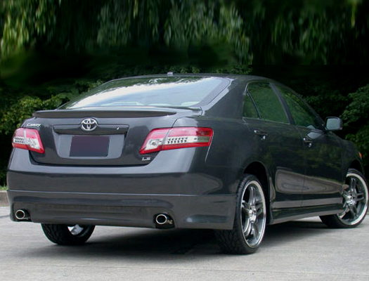 2010 2011 Toyota Camry Aac Style Rear Bumper Skirt 390 200