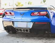 RKSport Corvette Stingray C7 Rear Diffuser 2014-2018