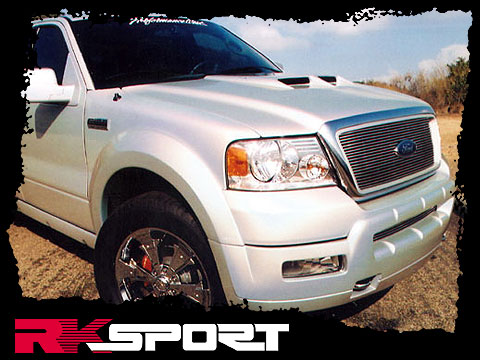 RKSport Ford F-150 Big Sky Ram-Air Hood 2004-2008 19011000