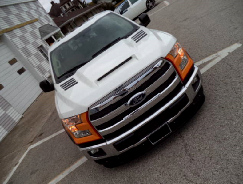 Rksport Ford F 150 Pickup Ram Air Hood 2015 2019 19016000