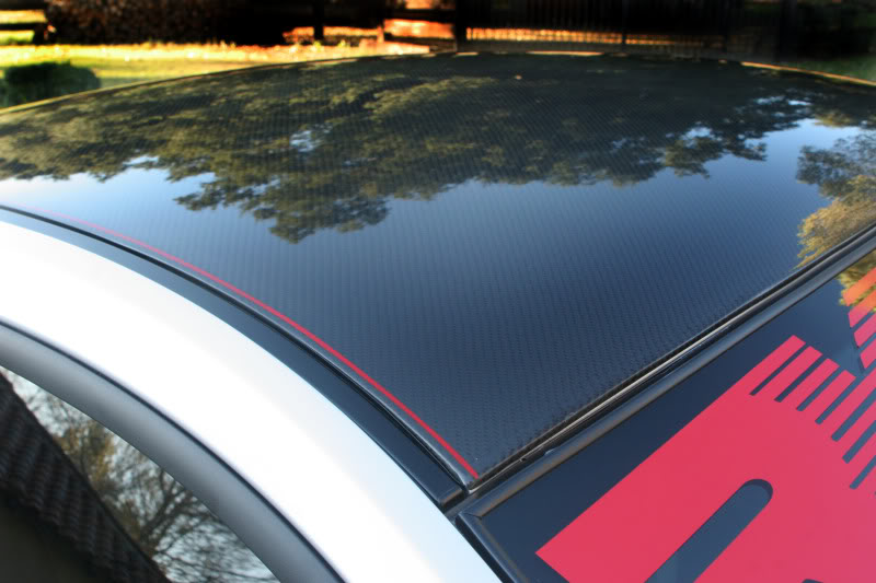 Rsport Ford Mustang Carbon Fiber Roof Overlay 2005 2014