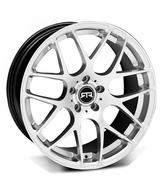 "RTR Mustang 19x9.5"" Wheel - Silver 2005-2017"