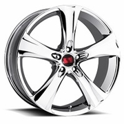 Saleen 20x9 5-Spoke Chrome Alloy Wheels