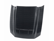Anderson Composites Ford Mustang GT500 TS-Style Carbon Fiber Hood 2010-2014