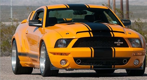 Shelby Wide Body Kit For Ford Mustang Gt500 2005 2009