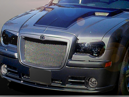 trufiber 2005 2010 chrysler 300c rtc style ram air hood. Black Bedroom Furniture Sets. Home Design Ideas