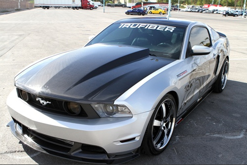 Trufiber 2010 2012 Ford Mustang Gt Trufiber 3 Quot Cowl Carbon