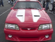 Trufiber TF10021-A29 Mustang Mach 1 Style Heat Extractor Hood 1987-1993