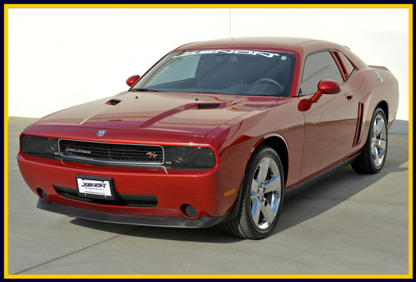 Xenon Dodge Challenger Rear Quarter Body Scoops Kit 2008