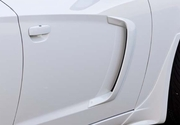 Xenon Dodge Charger Body Side Door Scoops 2011-2014