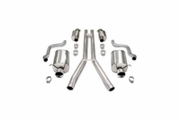"05-08 Corsa Touring Exhaust System - Dual 4"" Tips"