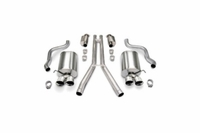 "05-08 Corsa Touring Exhaust System - Quad 3.5"" Tips"