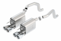 05 - 08 LS2/LS3 BORLA ATAK Exhaust System w/Round Tips (New Design)