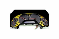 05-13 Aluminum Gauge Surround - Painted