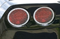 05-13 Laser Mesh Stainless Tail Light Grills (4pc)
